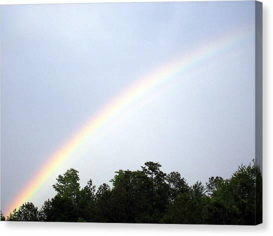 Over The Rainbow Canvas Print by Tina Antoniades