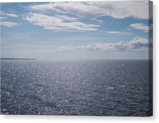 Canvas Print - Over The Sea by Jo Jackson