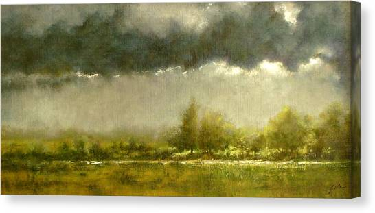 Canvas Print - Overcast Day At The Refuge by Jim Gola