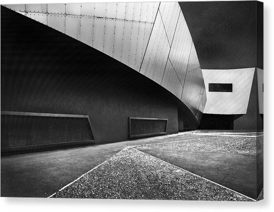 Museums Canvas Print - Overhang by Linda Wride