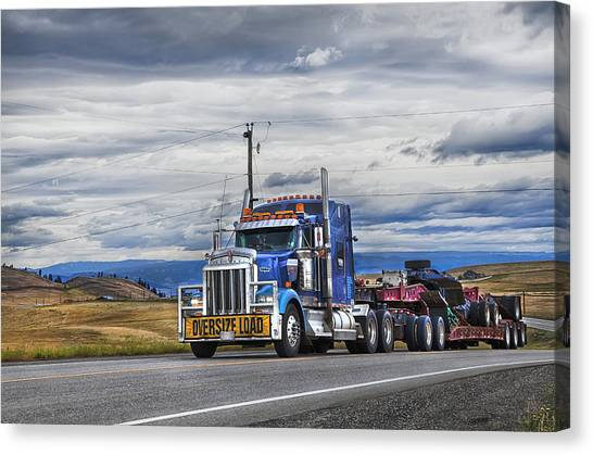 Oversize Load Canvas Print