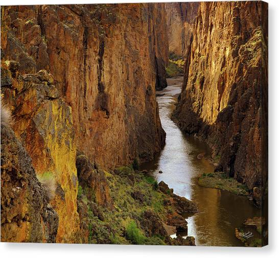 Owhyee River Canvas Print
