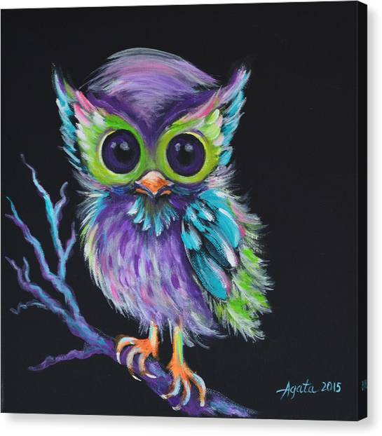 Owl Be Your Friend Canvas Print