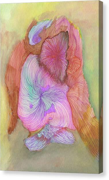 Owl - #ss16dw043 Canvas Print by Satomi Sugimoto