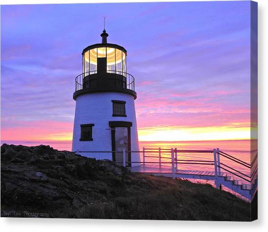 Owls Head Light Canvas Print