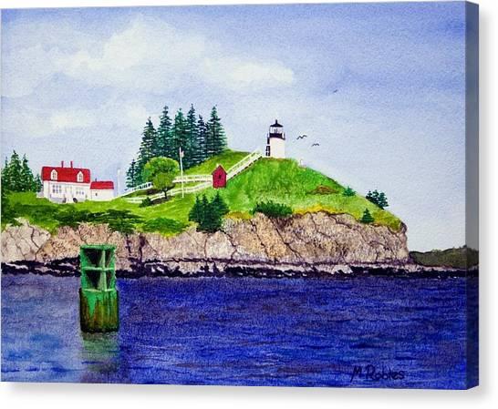 Owls Head Lighthouse Canvas Print