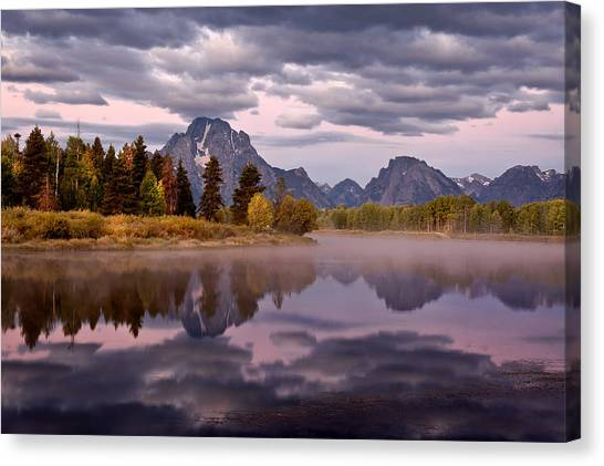 Oxbow Canvas Print