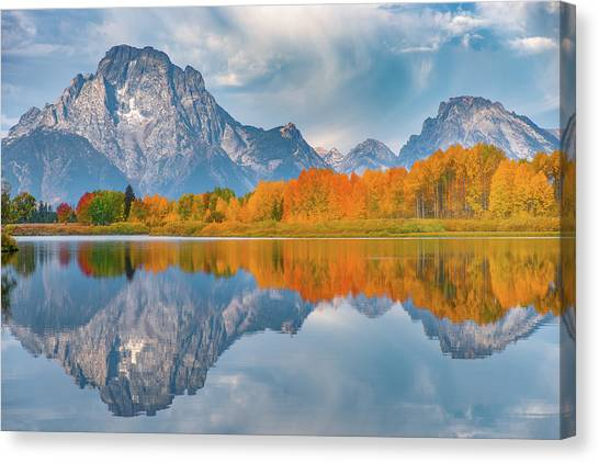 Oxbow's Autumn Canvas Print