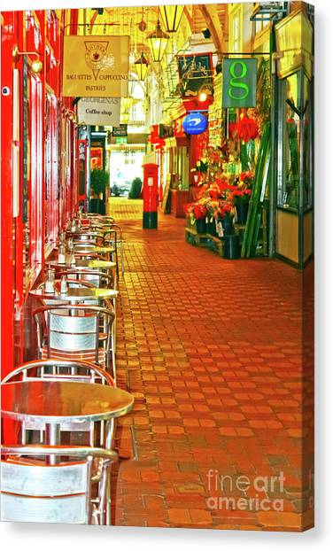 Oxford Covered Market Hdr Canvas Print