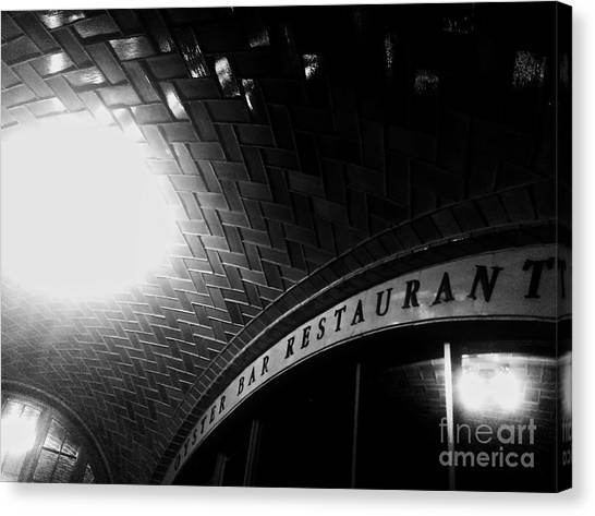 Oyster Bar At Grand Central Canvas Print