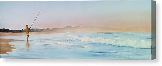 Oyster Bay Morning Canvas Print