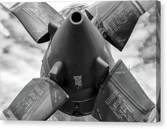 P-3 Prop Canvas Print