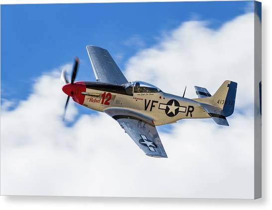 P-51 The Rebel Canvas Print
