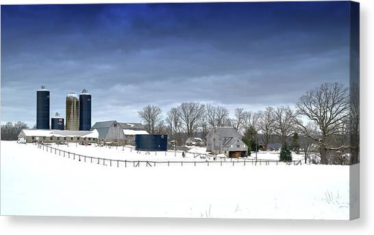 Pa Farm Canvas Print
