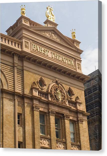 Pabst Theater Canvas Print