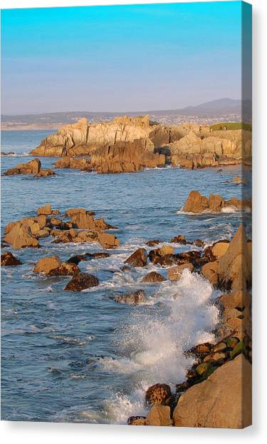 Pacific Beachline Canvas Print by Pearson Photography