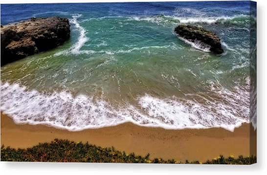 Pacific Coast Canvas Print