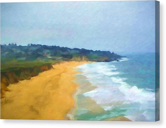 Canvas Print - Pacific Coast by Impressionist Art