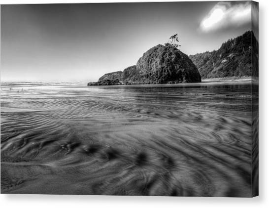 Pacific Coast Tide Canvas Print by Drew Castelhano
