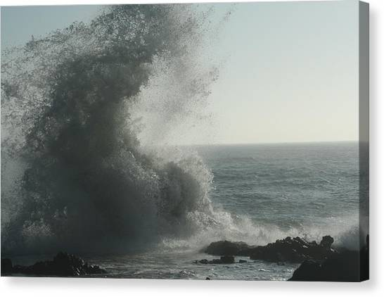 Pacific Crash Canvas Print