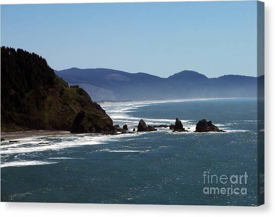 Pacific Ocean View 2 Canvas Print