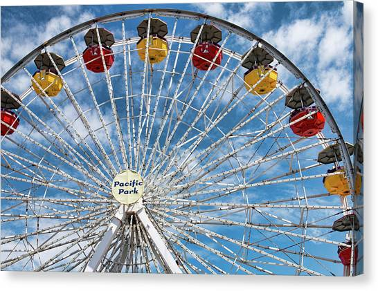 Pacific Park Ferris Wheel Canvas Print