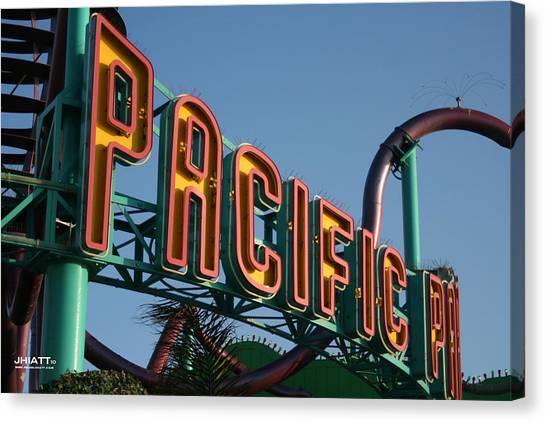 Pacific Park Canvas Print