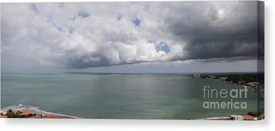 Pacific Storm Panorama Canvas Print