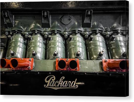 Packard Airplane Engine Canvas Print
