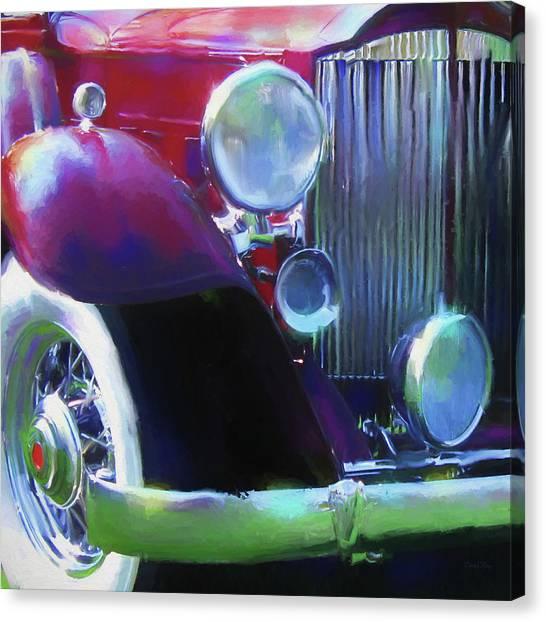 Packard Close Up Canvas Print by David King