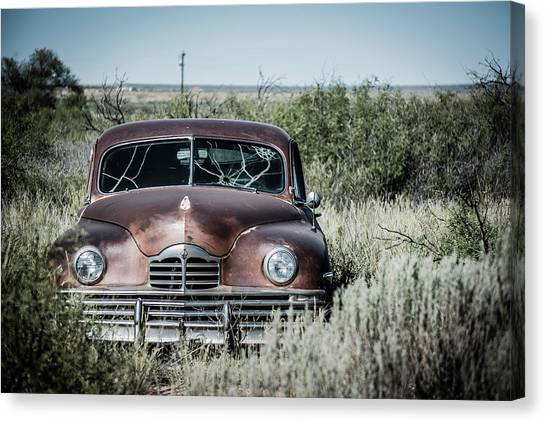 Grand Theft Auto Canvas Print - Packard Out by Enzwell Designs