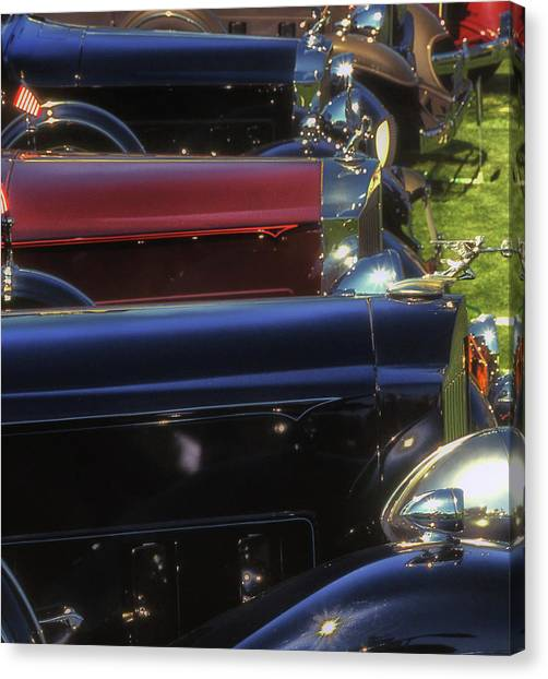 Packard Row Canvas Print