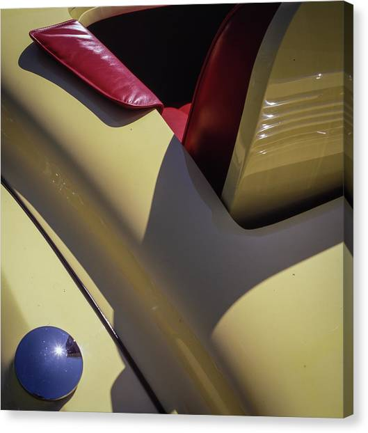 Packard Rumble Seat Canvas Print