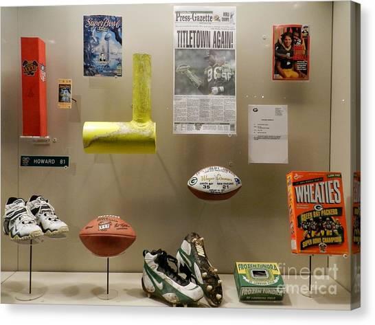 Reggie White Canvas Print - Packers Memorabilia by Snapshot Studio