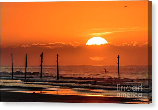 Paddle Home Canvas Print
