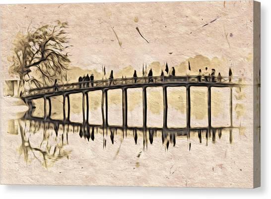 Pagoda Bridge Canvas Print