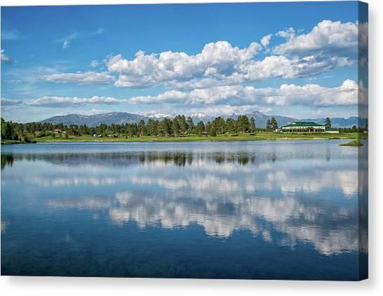 Pagosa Summer Reflections Canvas Print