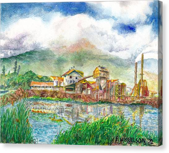 Paia Mill 1 Canvas Print