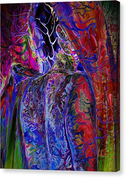 Pain Slow Death Six Canvas Print