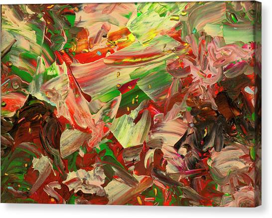 Expressionism Canvas Print - Paint Number 48 by James W Johnson