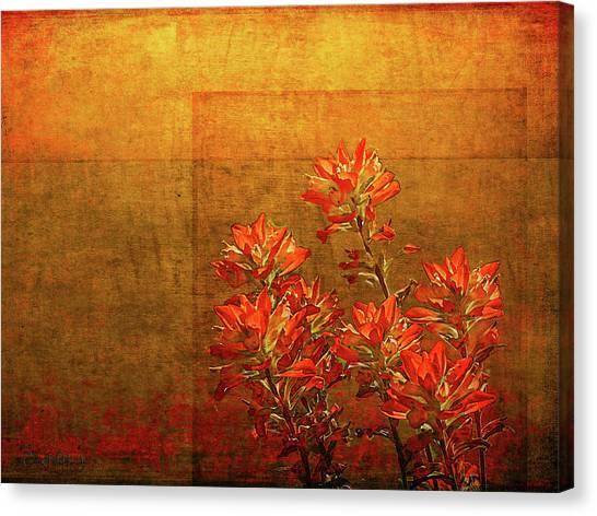 Paintbrush On The Horizon Canvas Print