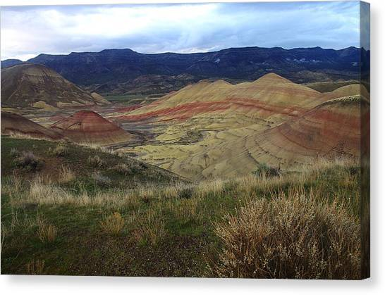Painted Hills 1 Canvas Print