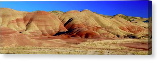 Painted Hills Pano Canvas Print