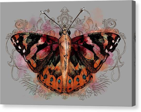 Painted Lady II Canvas Print
