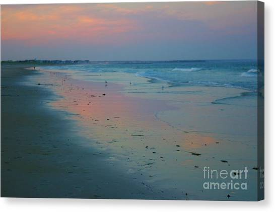 Painted Sand Canvas Print