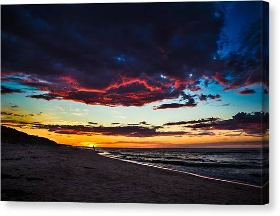 Painted Sky Canvas Print