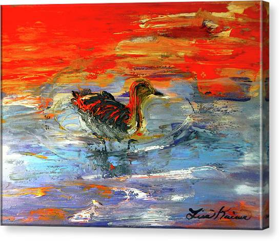 Painterly Escape II Canvas Print