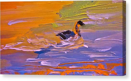 Painterly Escape Canvas Print