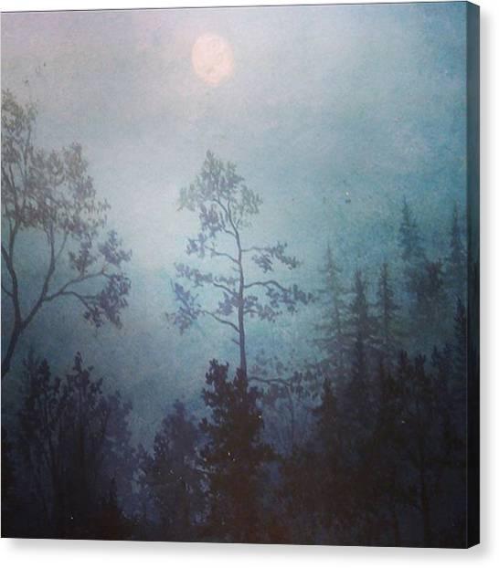 Romanticism Canvas Print - #painting #instasize #artist by Joachim Ingulstad