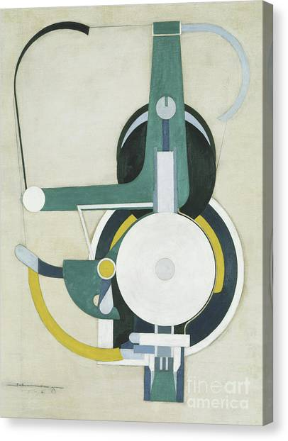 Precisionism Canvas Print - Painting by Morton Livingston Schamberg